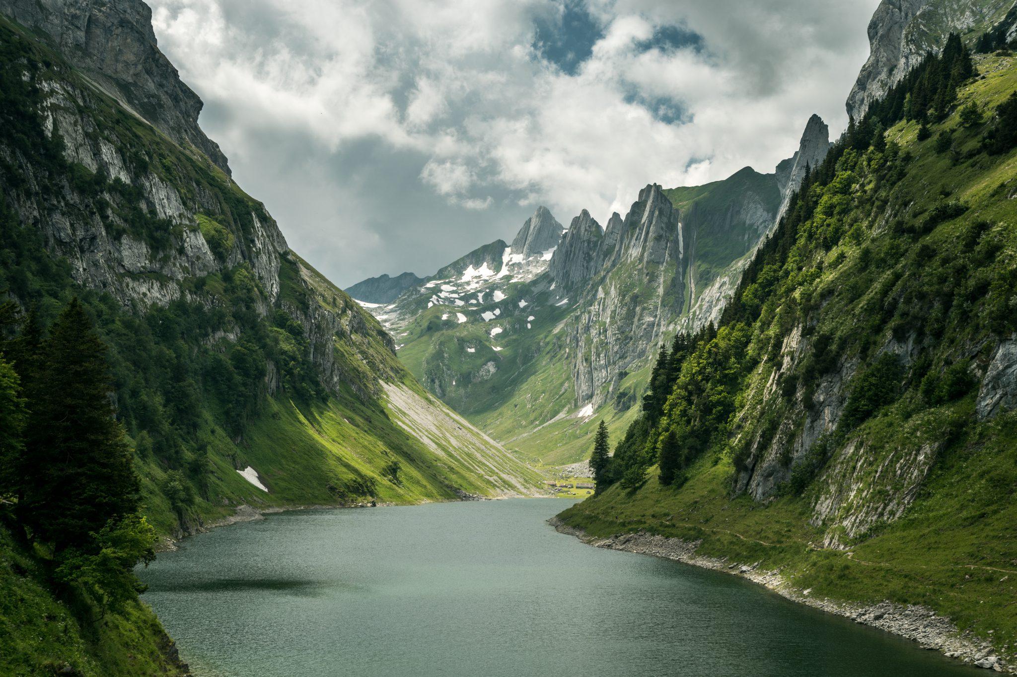 Berge: Blick in den Alpstein Appenzell